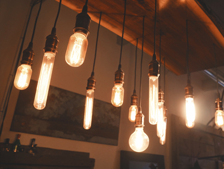 illustration - lampes