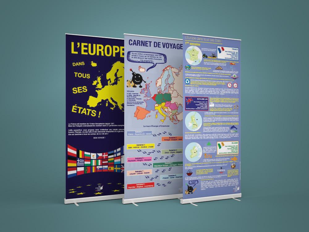 Exposition sur l'Europe dans tous ses Etats - Panoramuse - visuel 1