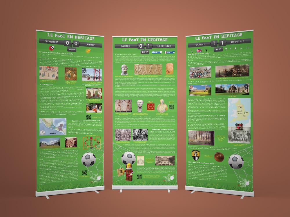 Exposition Le foot en héritage - Panoramuse - visuel 1