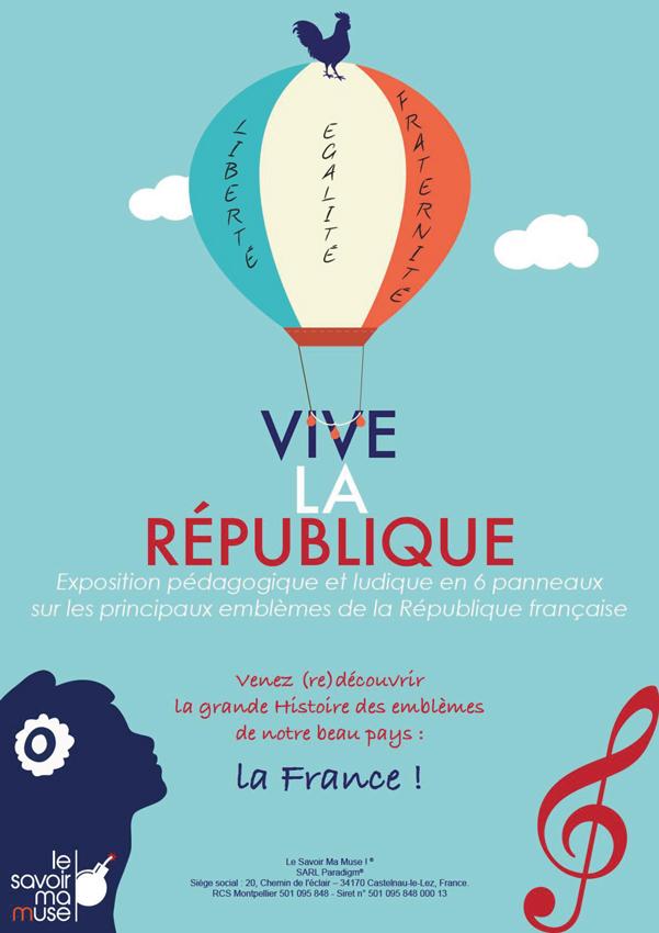image d'accueil - Panoramuse - Vive la République