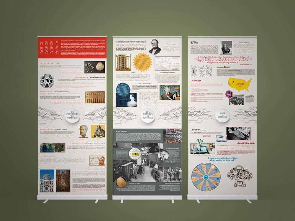 Exposition sur la Révolution numérique - Panoramuse - visuel 1