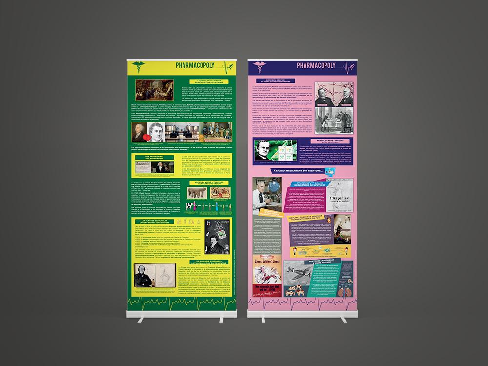 Exposition sur la saga des médicaments Pharmacopoly - Panoramuse - visuel 3
