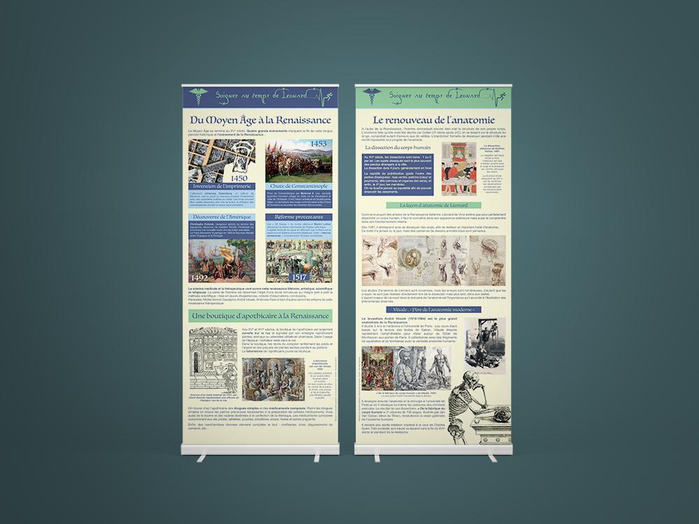 Exposition sur la médecine au temps de Léonard - Panoramuse - visuel 1