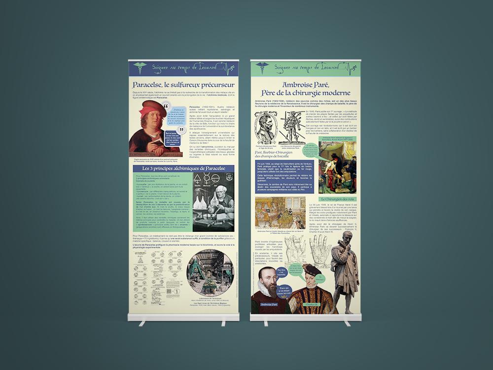 Exposition sur la médecine au temps de Léonard - Panoramuse - visuel 2